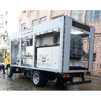 山东大型集成车载叠螺污泥脱水系统